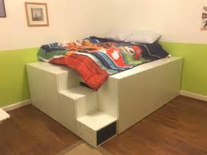 ikea hack bed platform bed builder davis family handydadtv