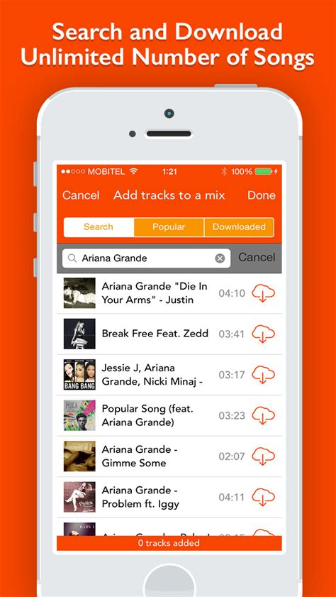 how to download mp3 from soundcloud to iphone smeego free mp3 music download manager for soundcloud ios