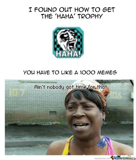 Starburst Meme - haha trophy by starburst meme center