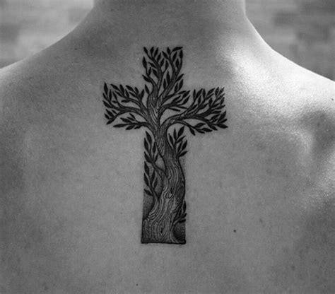 christian tattoo tree 40 simple christian tattoos for men faith design ideas