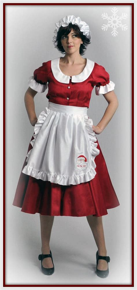 Mrs Claus Closet by Mrs Claus Costume Exclusive To The Costume Shop