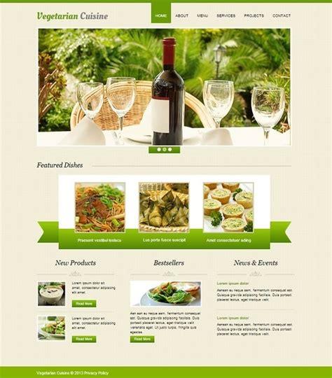 Cooking Website Templates Delicious Designs For A Perfect Site Cooking Website Template