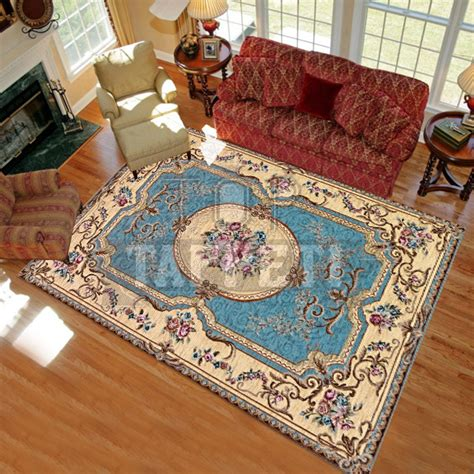 tappeto francese volant tappeto classico stile francese 800 ciniglia