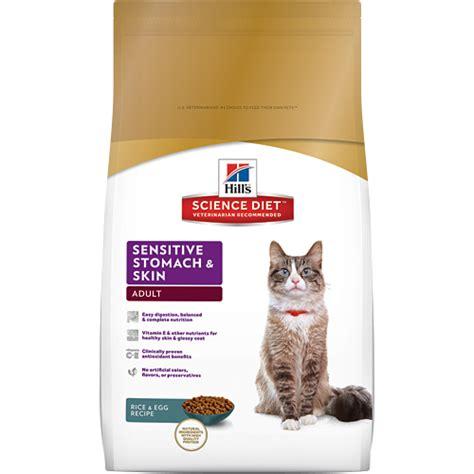 sensitive stomach cat food hill s 174 science diet 174 sensitive stomach skin