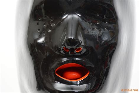 studio gum anatomical mask heavy rubber by studio gum