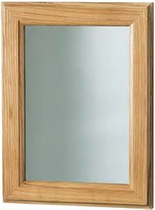 wood frame bathroom mirror stylish oak wooden frame bathroom wall mirror ebay