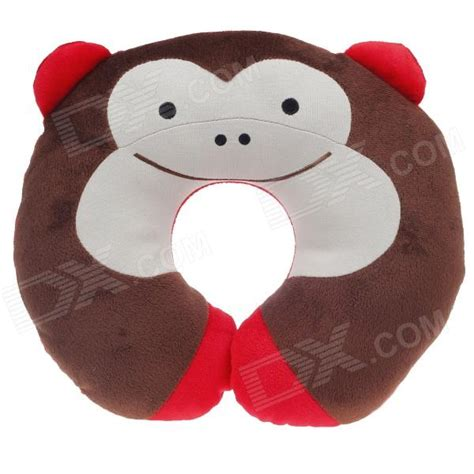 Monkey Neck Pillow by Monkey Style U Type Neck Pillow Brown Ivory