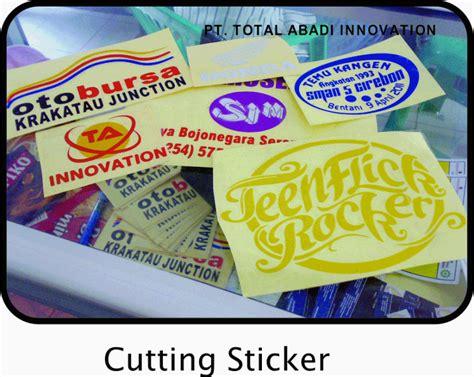Stiker Label Stiker Kapur Label Stiker Nama Papan Tulis Kapur Stiker cutting sticker murah id card murah kartu nama cetak nota surat jalan murah pt total