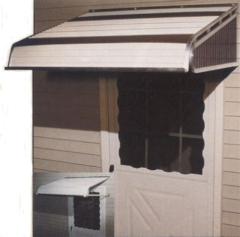 futureguard awnings futureguard aluminum door canopy custom canvas co