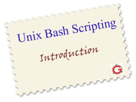 online tutorial unix shell scripting bash scripting introduction tutorial with 5 practical exles