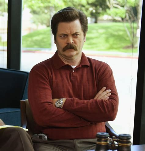 nick offerman  ron swanson parks  recreation cast