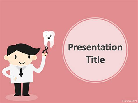 dental powerpoint templates free free dentist powerpoint template free