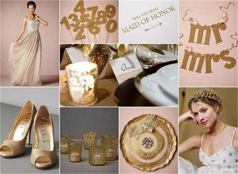 Rustic Gold Wedding Theme   Rustic Wedding Chic