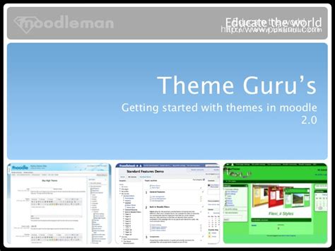 moodle theme not updating theme guru s moodle 2 edition