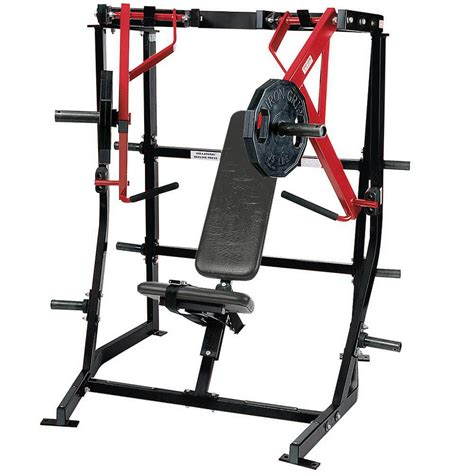 hammer strength plate loaded iso lateral decline press