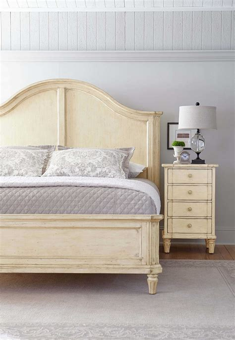 european bedroom furniture stanley furniture european cottage casual panel bed