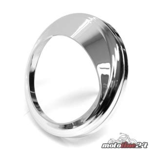 Ring Speedometer Chroom Rx King Original k 252 ryakyn chrome speedometer bezel with visor harley davidson so