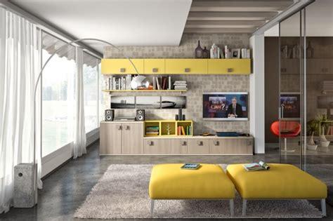 idees pour decorer  salon avec des meubles de rangement