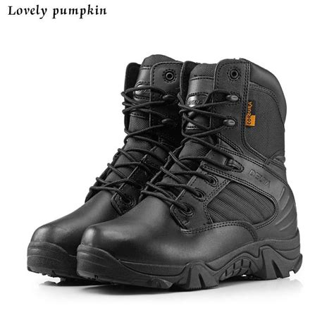 Sepatu Delta Tactical Boots 2016 new delta brand tactical boots desert combat outdoor army hiking travel shoes