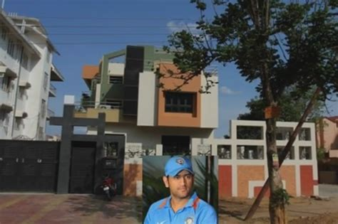 Hous by Ms Dhoni Net Worth House Wiki Height Age Trivia