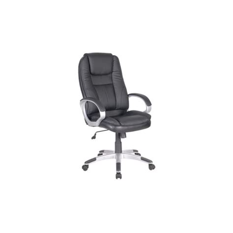 poltrona nera poltrona sedia da ufficio direzionale girevole nera