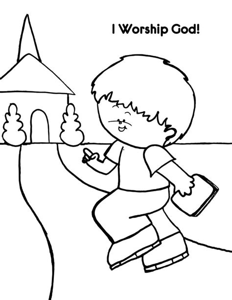 Christ Is Worthy Of Worship Sunday School Lesson God Is Coloring Pages