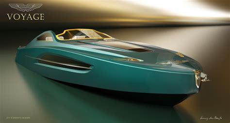 aston martin boat concept takes bond off shore autoblog - Aston Martin Boat