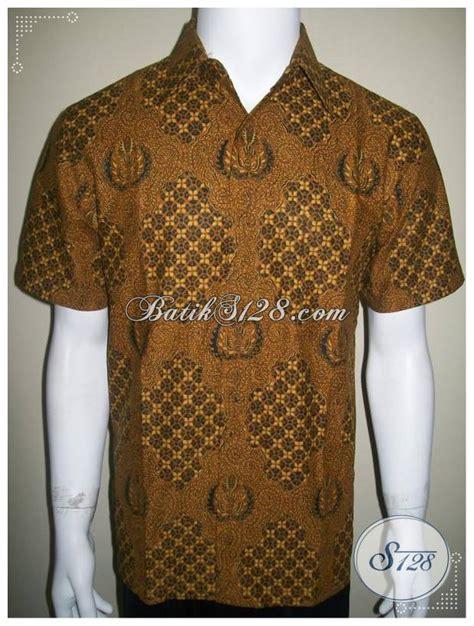Kemeja Melati batik klasik motif buntal melati kemeja batik murah