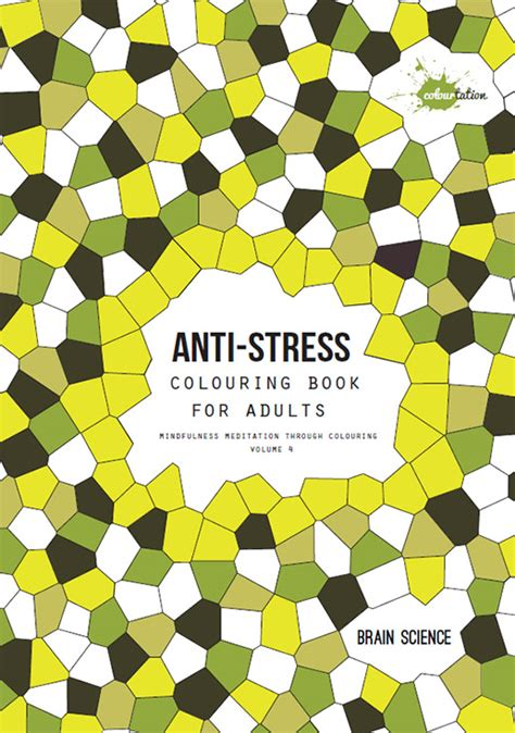 colourtation anti stress colouring book for adults volume 1 colourtation brain science colouring books for adults