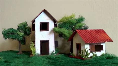 como hacer maquetas de casas diorama maquete casa de alvenaria maquete brick house