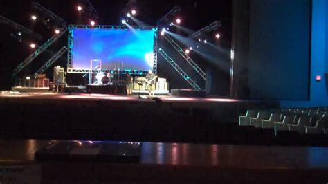 Church Stage Lighting by Stage Lighting Demo For 2009 New Look In Hd For Church