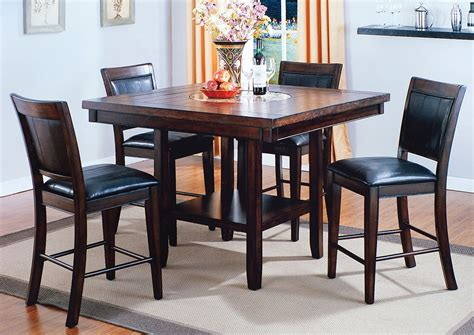 dining room tables counter height compass furniture fulton counter height dining room table