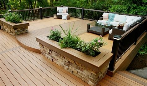 Small Backyard Deck Ideas by Small Backyard Decks Designs With Best Furniture 8