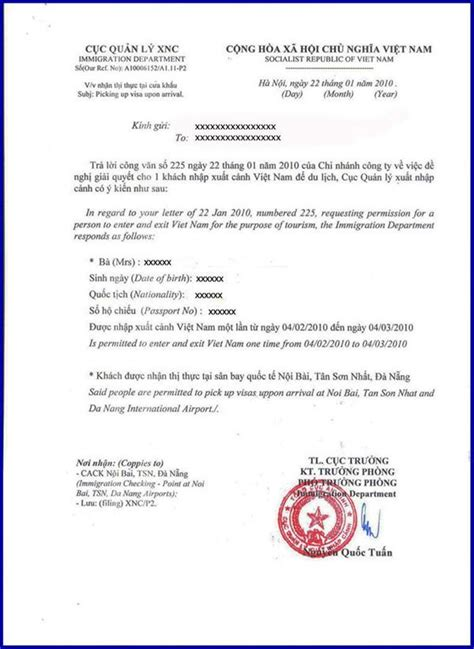 Letter To Embassy For Visa Extension Visa Approval Letter Visa Tourist Visa