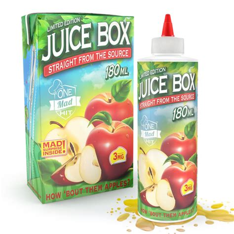 mad hit juice box  liquid ml apple juice