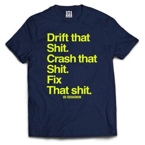 Tshirt Kee Drifting drift that shirt navy 101 squadron