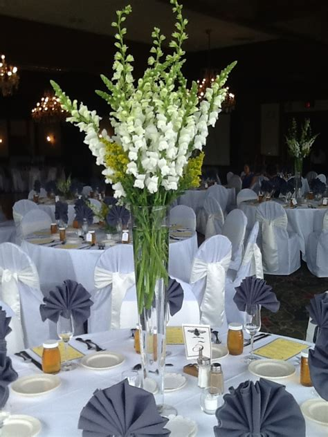 tall centerpieces for weddings white google search