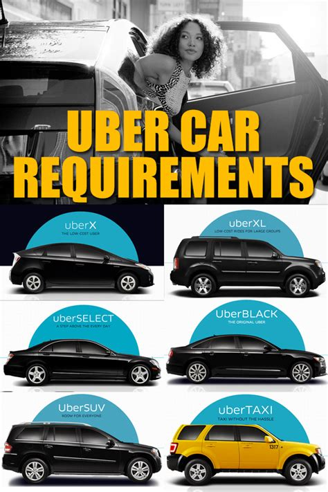 uber accepted cars uber car requirements