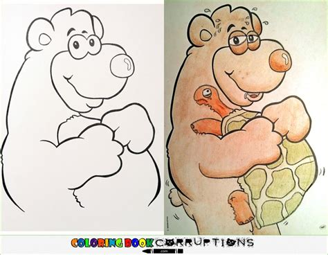 hilarious coloring book corruptions what coloring books look like in the of demented