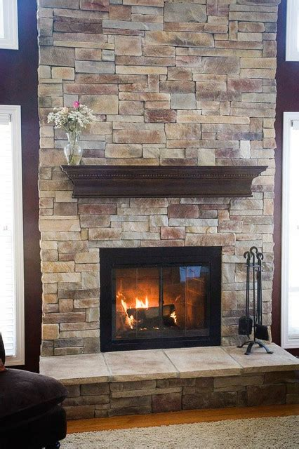 remodeling your two story fireplace north star stone fireplaces rustic family room chicago by north