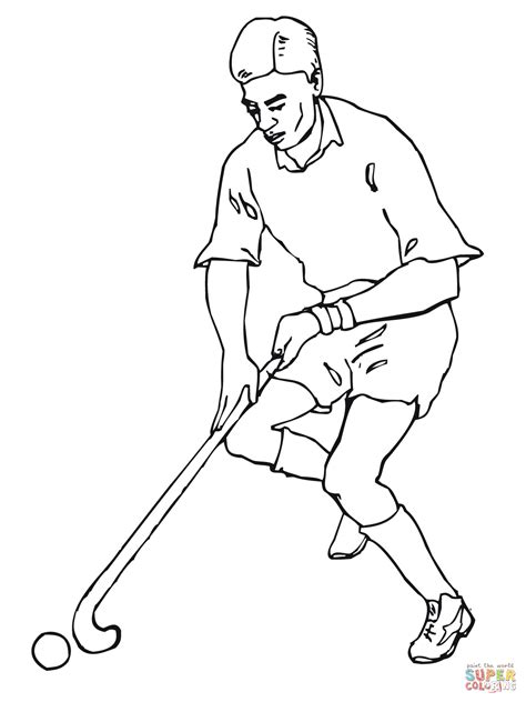 simple hockey coloring pages 15 kids coloring pages field hockey print color craft