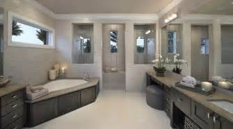 Decorating Ideas For Master Bathrooms by Fresh Designs Built Around A Corner Bathtub