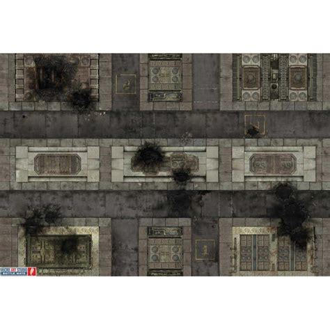 City Mat by War Mat 72x48inch Imperial City Battle Mats