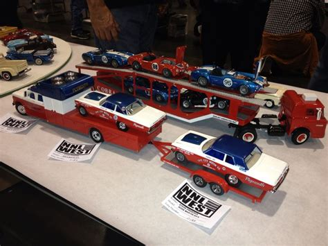 commercial vehicle model kits sox martin race cars and hauler model cars pinterest
