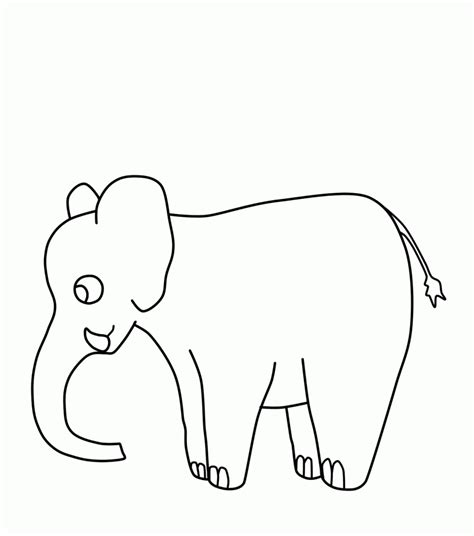 Coloring Pages Of Cartoon Elephants | free printable elephant coloring pages for kids