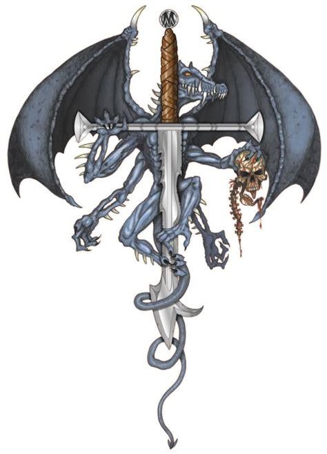 tattoo dragon sword 40 fantasy dragon tattoos designs images and ideas