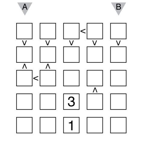 sunday 3 futoshiki the of puzzles