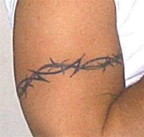 barb wire cross tattoo barbed wire armband cool tattoos gallery of