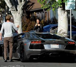 tom felton is hopelessly potty for his new lamborghini