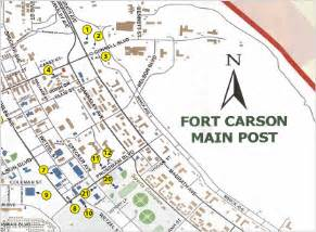 fort carson colorado map fort carson services united states army